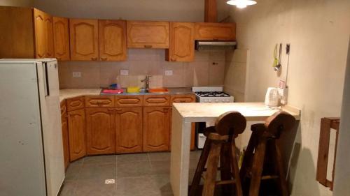 Una cocina o kitchenette en Alojamiento M&F - familiar