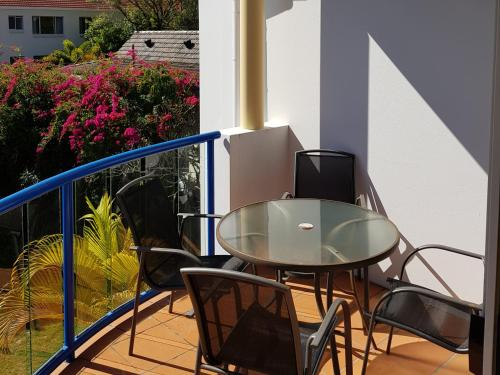 A balcony or terrace at Surfers Beach Resort One