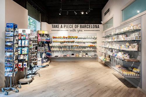 Ein Supermarkt oder andere Läden in der Ferienwohnung oder in der Nähe