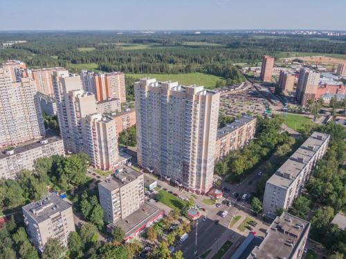 Apartment on Nekrasova 13a с высоты птичьего полета