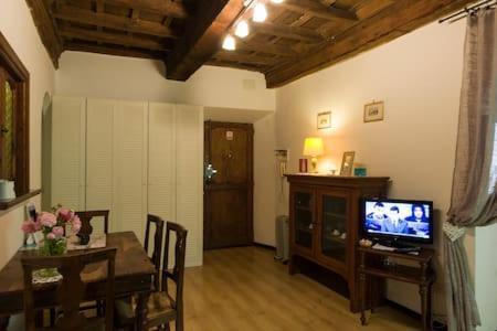 Télévision ou salle de divertissement dans l'établissement Appartamenti del Campo