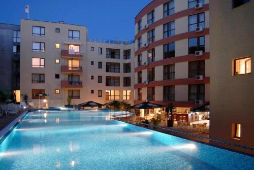 The swimming pool at or close to Two Bedroom Apartment - Panorama Beach Nesebar