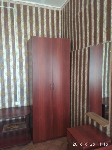Телевизор и/или развлекательный центр в Hostel on Chmelnitskogo