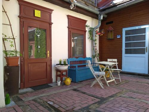 Exteriér alebo vchod do ubytovania Apartman na Zlatom Dvore