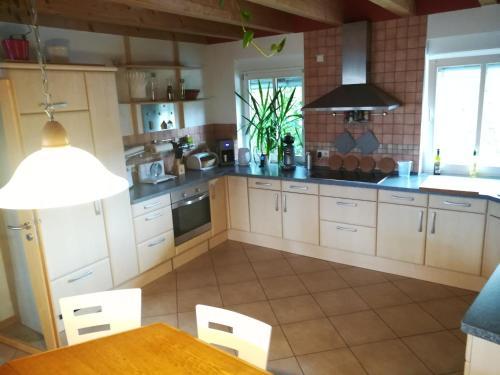 A kitchen or kitchenette at Appartement Lardenbach