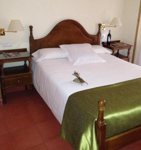 Cama o camas de una habitación en Villa de Elciego
