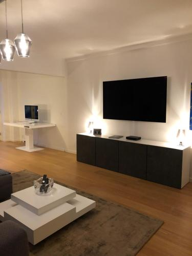 A television and/or entertainment center at Nyhavn 31E