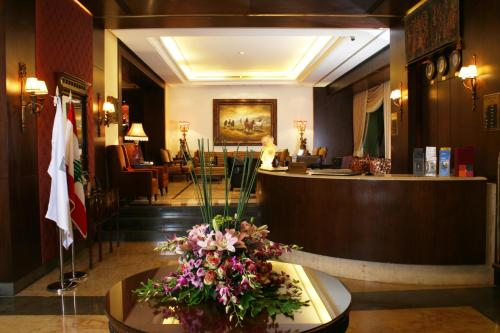 The lobby or reception area at Markazia Suites