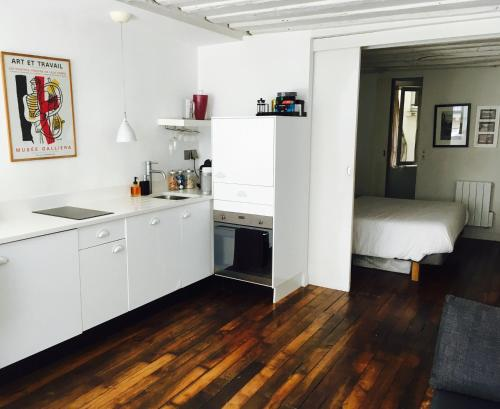 Køkken eller tekøkken på St Honore