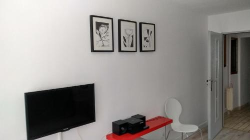 A television and/or entertainment center at CertApart