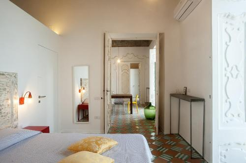 A bed or beds in a room at Il Rigiuolo - Holiday Home