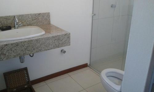 Un baño de Casa Lagoa Floripa