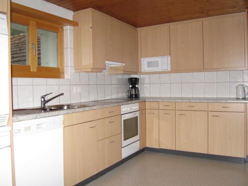 Küche/Küchenzeile in der Unterkunft Apartment Michel