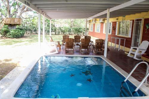 The swimming pool at or near Lagoona Villa