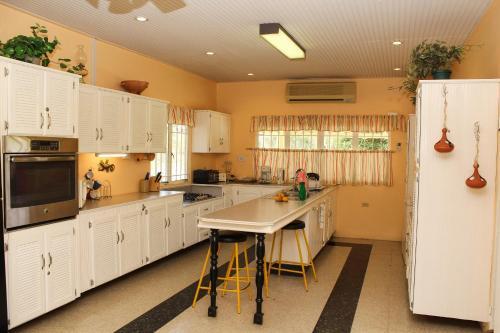 A kitchen or kitchenette at Lagoona Villa