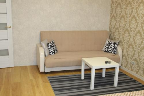Гостиная зона в Apartment on Olimpiyskaya 4
