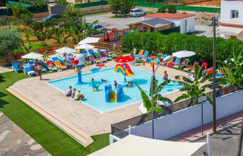 A view of the pool at Casa Luis Apartments or nearby