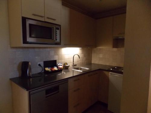 A kitchen or kitchenette at Inn Scone