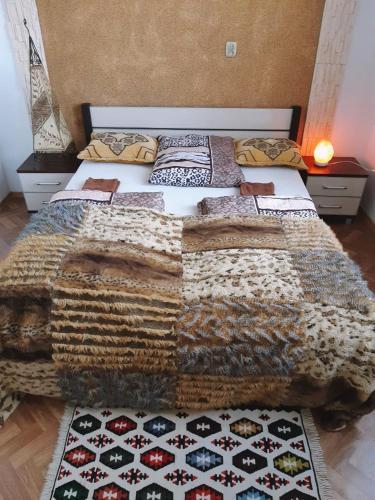 Ein Bett oder Betten in einem Zimmer der Unterkunft Dreams