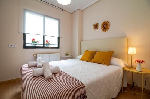 Cama ou camas em um quarto em La seda stay