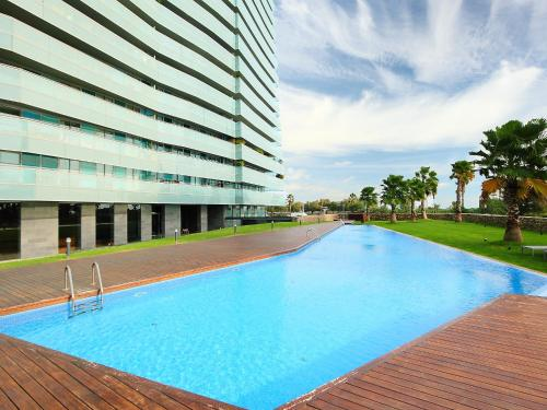 The swimming pool at or near Apartment Diagonal Mar