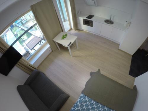 Oleskelutila majoituspaikassa NordStar Apartments
