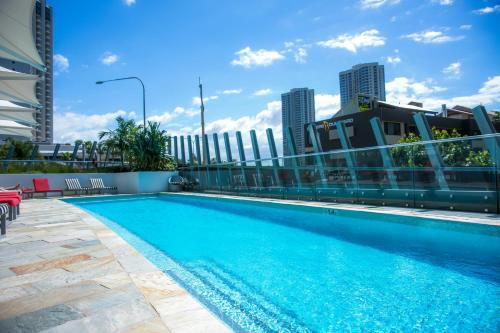 The swimming pool at or near 180 degree ocean view Apt by Hostrelax GCRDU0Y