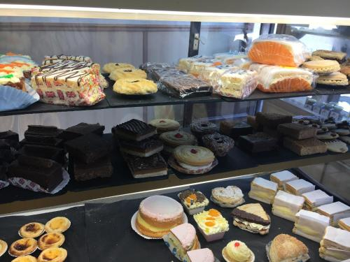 Food at or somewhere near the vacation home