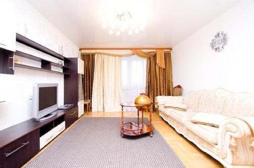 Гостиная зона в Apartment Centre Nemiga 12