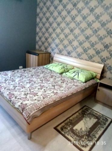 Кровать или кровати в номере Barin Guest House