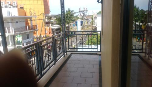 A balcony or terrace at La salette