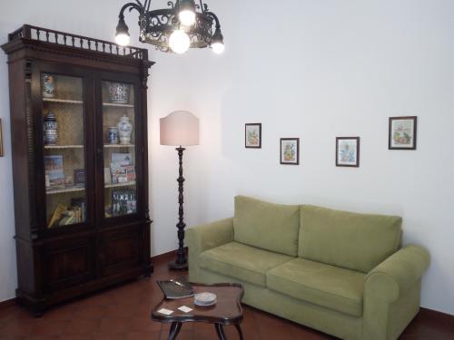 Seating area sa Casa Caterina