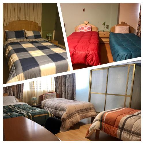 Litera o literas de una habitación en Vallecito Homestay in Cusco