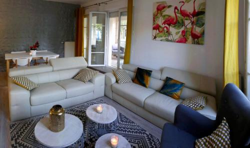A seating area at Cosy Apartment Disneyland Paris