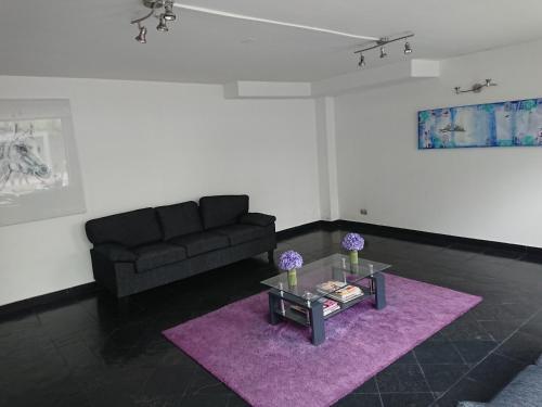 Zona de estar de Departamentos Centro Urbano Providencia