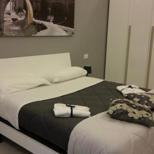 A bed or beds in a room at Tuttoincentro