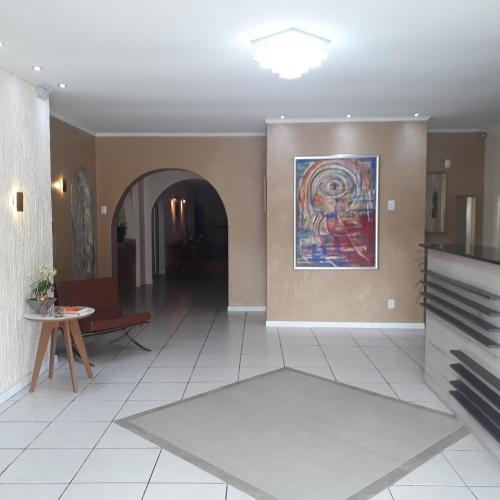 O saguão ou recepção de Cithos Hotel