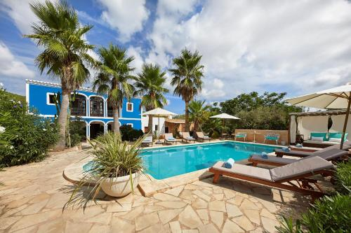 The swimming pool at or near Villa Can Coves