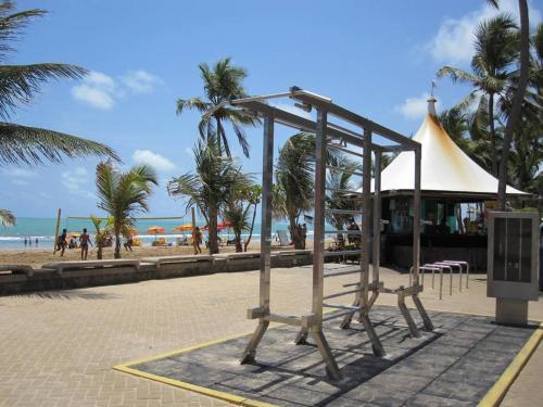 Children's play area at Apto de 4 quartos-a uma quadra da praia de Boa Viagem