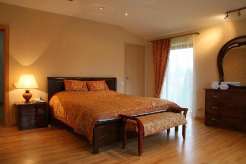 Lova arba lovos apgyvendinimo įstaigoje Apartamentai Luna