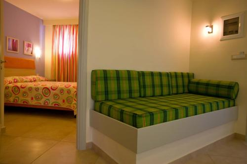 A seating area at Amaryllis Hotel Apartments