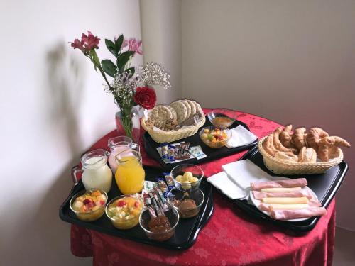Opciones de desayuno disponibles en Armonía Aparts