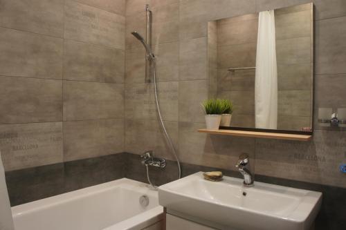 Ванная комната в Астория Клаб