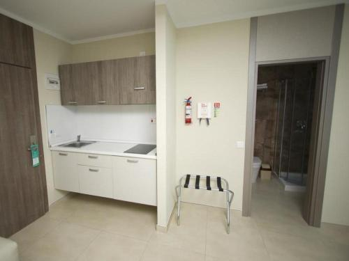 A kitchen or kitchenette at Apartment Classic Studio Inland 115 4pax