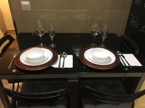 Un restaurante o sitio para comer en Un Rincón en la Roca