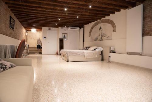 Coin salon dans l'établissement Casa Marco Polo