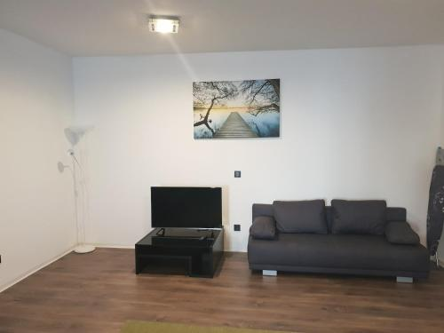 A seating area at Apartmens Center Nürnberg