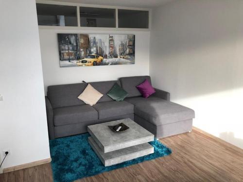 Ein Sitzbereich in der Unterkunft Apartment 8