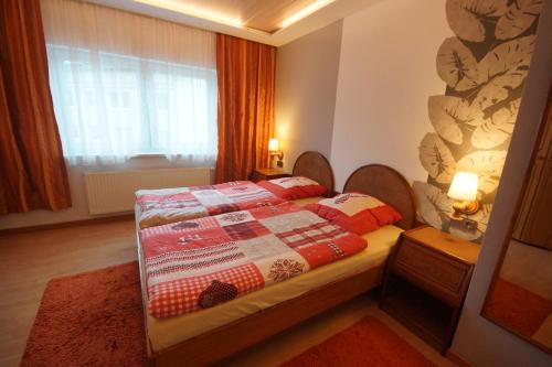 Ein Bett oder Betten in einem Zimmer der Unterkunft Apartment Johanna Oberhof