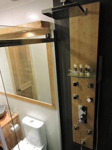 Kúpeľňa v ubytovaní EcoLofts Croacia 1028